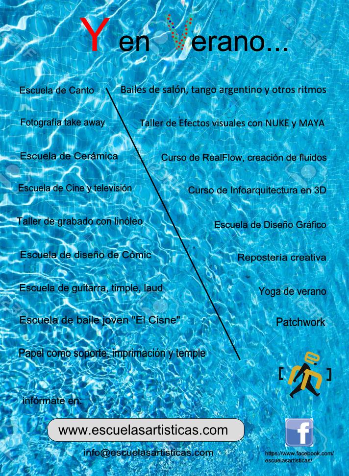folleto verano